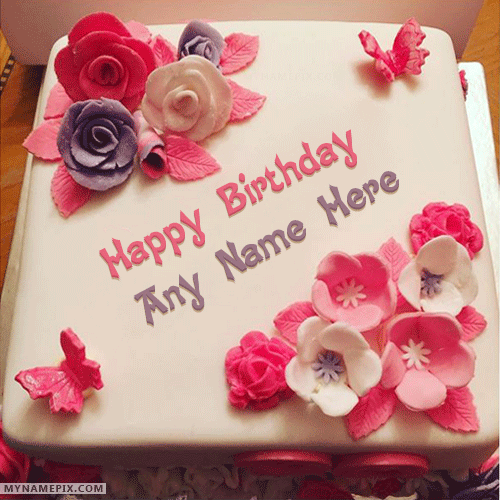 Super Beautiful Birthday Cake For Girls With Name Funny Birthday Cards Online Aeocydamsfinfo