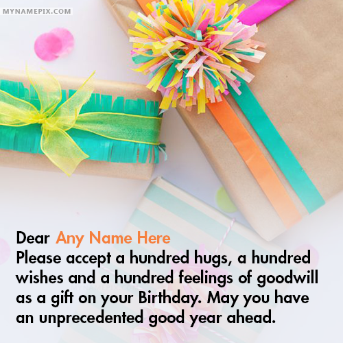 Best Birthday Wishes for Friend With Name