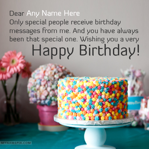 96 Happy Birthday Wishes By Name