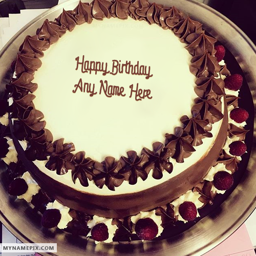 Terrific Chocolate Birthday Cake With Name Top Birthday Cake Pictures Funny Birthday Cards Online Alyptdamsfinfo