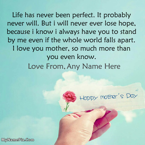 Happy Mothers Day Quotes Images With Name