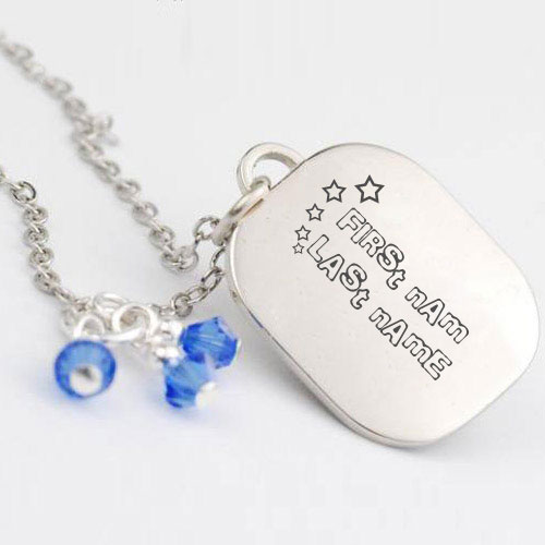 Personalized Awesome Necklace With Name