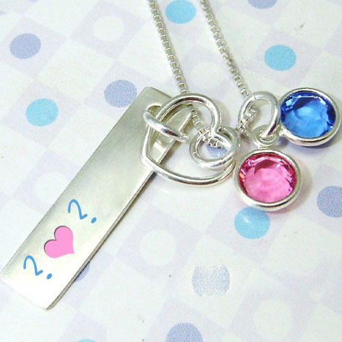 Colorful Pendant Alphabets With Name