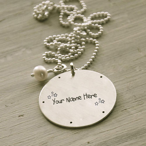Personalized Golden Beautiful Necklace With Name