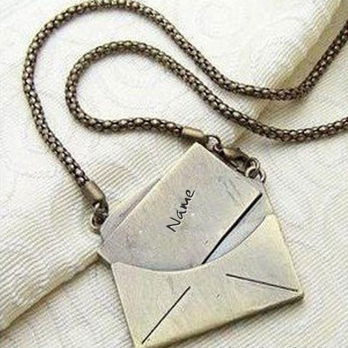 Personalized Golden Nick Name Necklace With Name