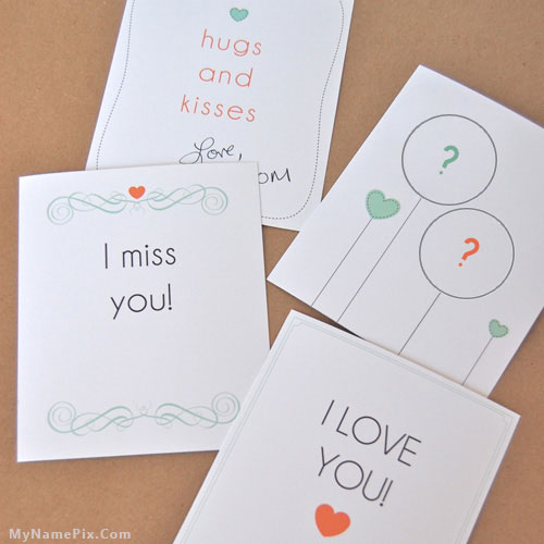 Hugs and Kisses With Name