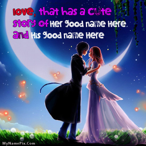 Our Cute Love Story With Name