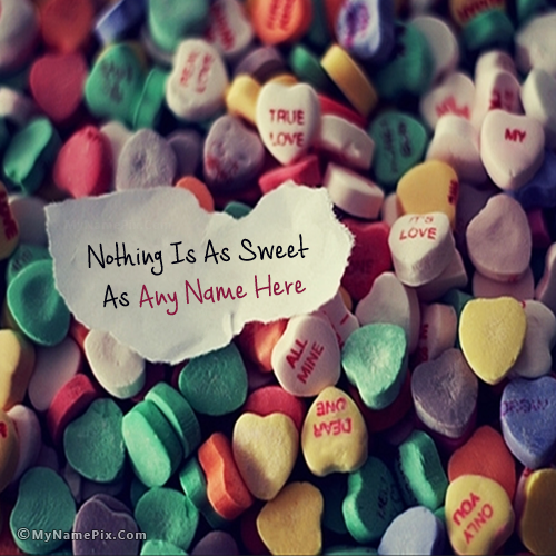 Sweet Love Note With Name